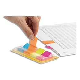 Carte de 50 marque page index papier Post It- 15 x 50 mm (photo)