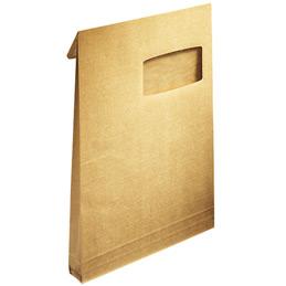 Pochettes kraft armé à 3 soufflets avec bande de protection La Couronne - 229x324 - fenêtre 50x100 - 130 g - paquet de 50 (photo)