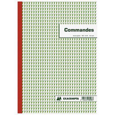 Manifold Commandes Exacompta NCR - 21 x 29,7 cm - 50 triplicatas
