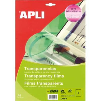 Film transparent Agipa - pour imprimante laser noir et blanc - boite de 100 (photo)