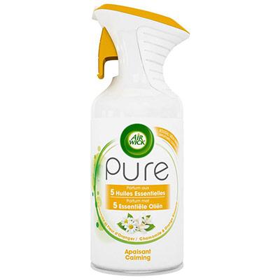 Désodorisant aérosol Pure aux huiles essentielles - fleur d'oranger - 250 ml (photo)