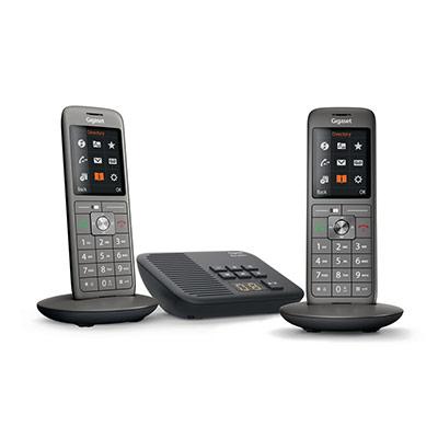 Téléphone GIGASET SIEMENS CL+J6049:J6120660A duo (photo)