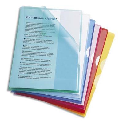 Boîte de 50 pochettes-coin Fard'Or en PVC 13,5/100e - coloris assortis (photo)