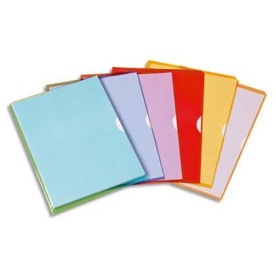 Boîte de 50 pochettes-coin Fard'Liss en PVC 18/100e - coloris assortis (photo)