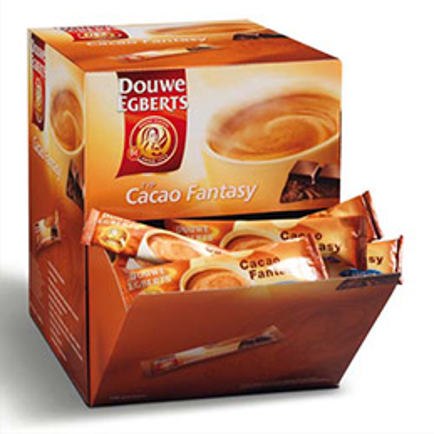 Boite de 100 stics poudre chocolat cacao fantasy (photo)