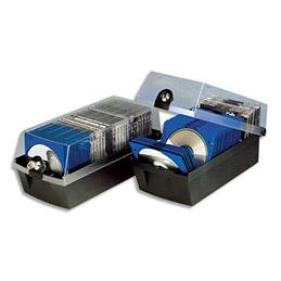 Boîte de rangement pour CD - capacité 30 CD (photo)