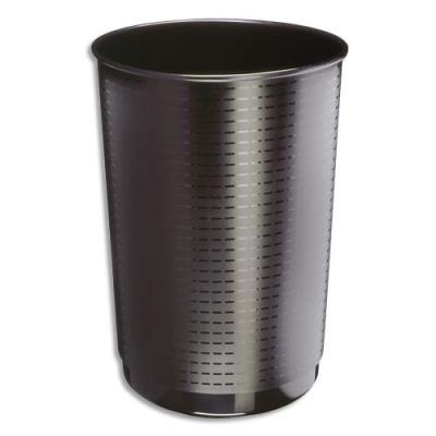 Corbeille à papier Maxi 133 - 40 litres - noir (photo)