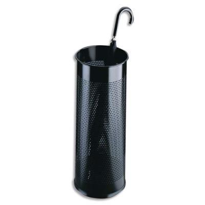 Porte-parapluies Durable en tôle perforée - coloris noir (photo)