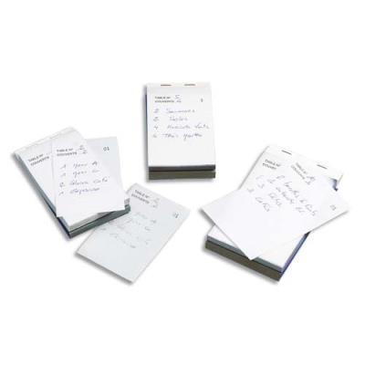 Bloc Maitre d'hôtel autocopiant - dupli - 50 feuillets - format 9,6 x 16,5 cm (photo)