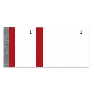 Bloc vendeur Elve rouge - 100 feuillets numérotés 6 x 13,5 cm - 1 coupon détachable (photo)
