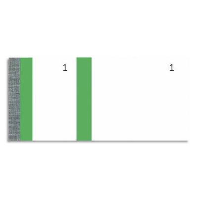 Bloc vendeur Elve vert - 100 feuillets numérotés 6 x 13,5 cm - 1 coupon détachable (photo)