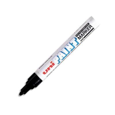 Marqueur peinture Uni Paint Px 20à huile - encre à pigmentation noir - pointe moyenne ogive