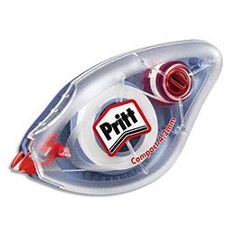 Roller de correction Pritt Compact - 4.2mm x 8.5 m - lot de 10 + 2 rollers de correction Pritt Ecomfort offerts