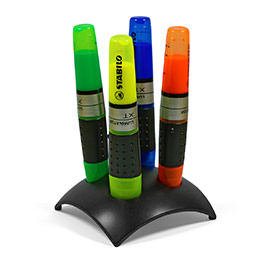 Stabilo Luminator - set de 4 surligneurs coloris assortis (photo)