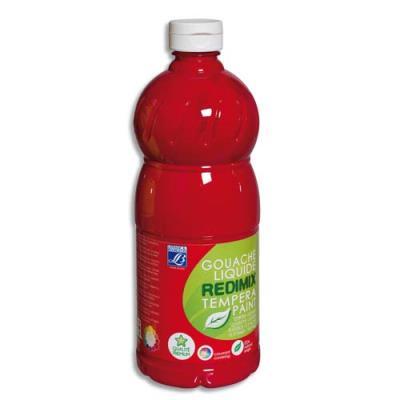 Gouache liquide - 1 litre - Color & Co - Rouge primaire Magenta Ecole