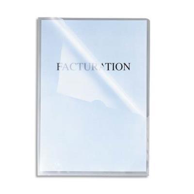 Boîte de 100 pochettes-coin Exacompta - incolore - stop-doc Ad Classement - en polypropylène 10.5/100e (photo)