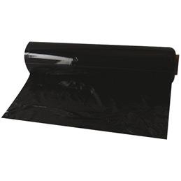 Rouleau de film étirable noir - 0,45x300m - carton de 6