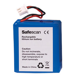 Batterie rechargeable Safescan LB-105 pour Safescan 135i 155i 165i (photo)