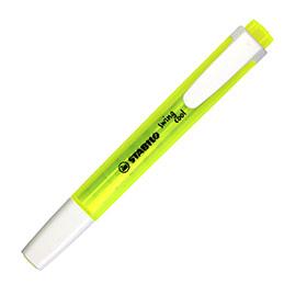 Stabilo Swing Cool 270 - surligneur pointe large biseautée - jaune (photo)