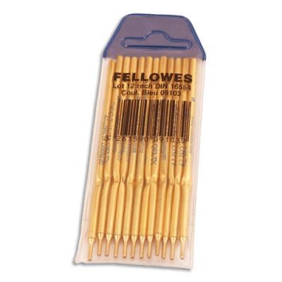 Recharge stylo sur socle 982 Fellowes - bleu