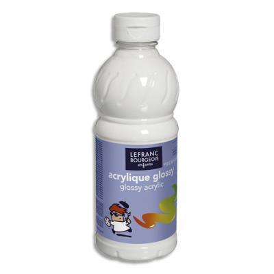 Acrylique  brillante - 500ml - Glossy Color& Co - Blanc