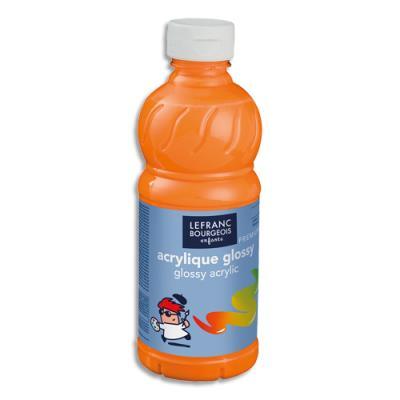 Acrylique  brillante - 500ml - Glossy Color& Co - Jaune dOr