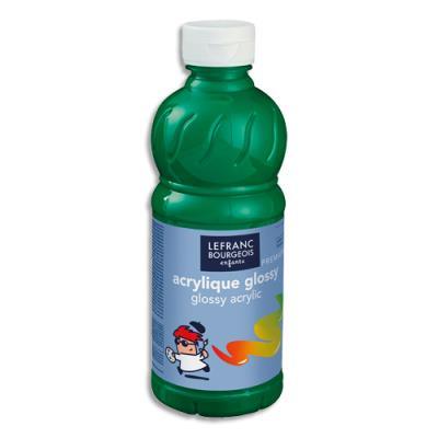 Acrylique  brillante - 500ml - Glossy Color& Co - Vert Brillant (photo)