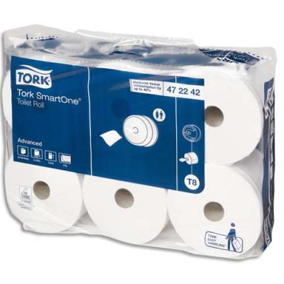 Papier toilette Tork pour distributeur Smartone - 1150 feuilles - lot de 6 rouleaux (photo)