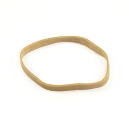 Elastiques - boite distributrice de 100g de caoutchouc blond - format: 110x8mm