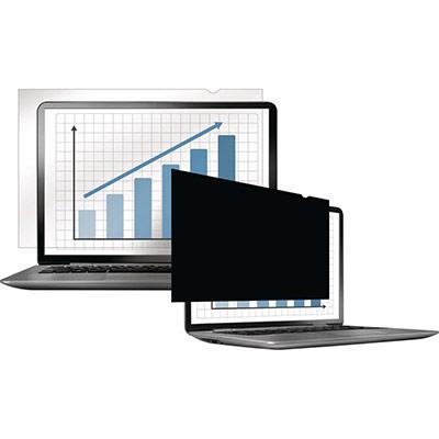 Filtre de confidentialité Fellowes PrivaScreen panoramiques pour ordinateurs fixes et portables 14'' - format 16/9 (photo)