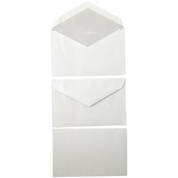 Enveloppes de visite 90x140 La Couronne - gommées - 80 g - paquet de 50 (photo)