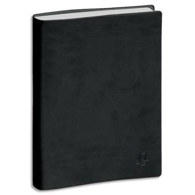 Agenda 2019 journalier journée Planifiée 21 de Exacompta - 21 x 13,5 cm - noir (photo)