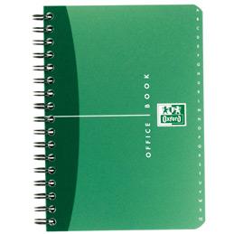 Répertoire Oxford Office - spirales - couverture PP - format 11x17cm - 180 pages - réglure ligné 6mm -