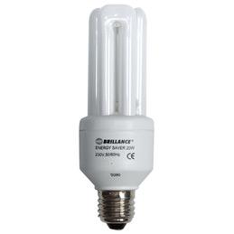 Ampoule fluo compacte - 20 watts - E27 (photo)