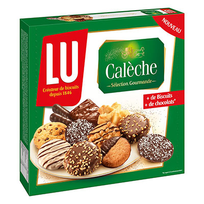 Biscuits Caleche de Lu - boîte de 250g (photo)