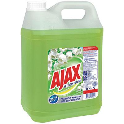 Nettoyant multi-usages Ajax Fête des fleurs - parfum fleurs de printemps - bidon de 5 litres (photo)