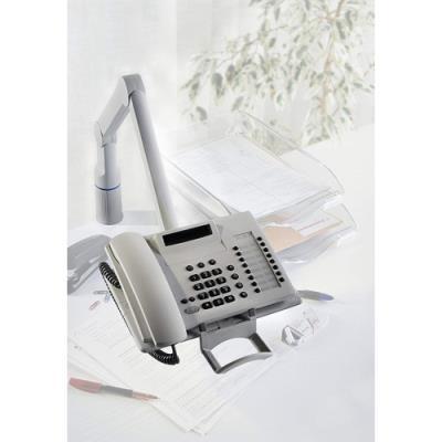 Support téléphone Talkmaster - gris - bras pivotant à 360°