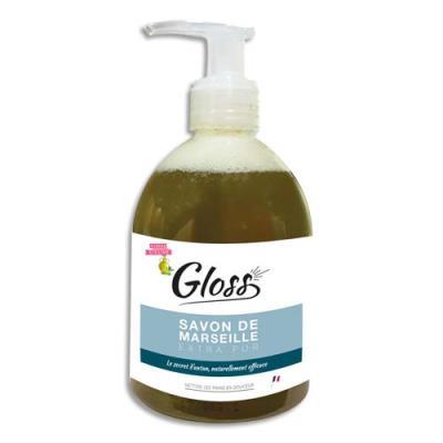 Savon liquide hypoallergenique au savon de marseille - Flacon de 300 ml