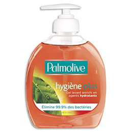 Savon liquide Palmolive Pouss'Mousse - Antibactérien - flacon 300ml (photo)