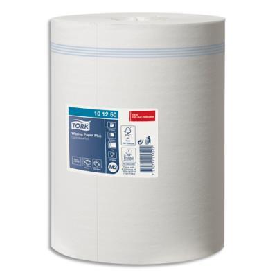 Bobine d'essuyage maxi Tork Plus - dévidage central - 457 formats - 2 plis - lot de 6