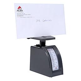 Pèse-lettre mécanique Alba - 250g - gris (photo)