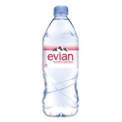 1 liter evian bottle - 1 8