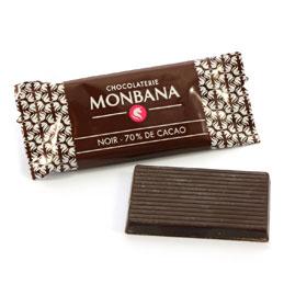 Chocolats napolitains noirs - Boîte de 200