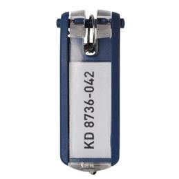 Porte-clés Key Clip Durable - bleu foncé (photo)
