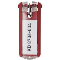 Porte-clés Key Clip Durable - bleu rouge (photo)