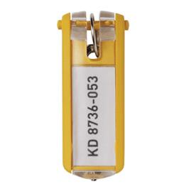 Porte-clés Key Clip Durable - bleu jaune (photo)