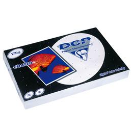 Papier blanc DCP - 170 g - A4 - spécial laser - ramette de 250 feuilles (photo)