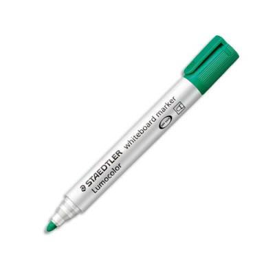 Marqueur Staedtler Lumocolor 351 - pointe ogive - effaçable vert