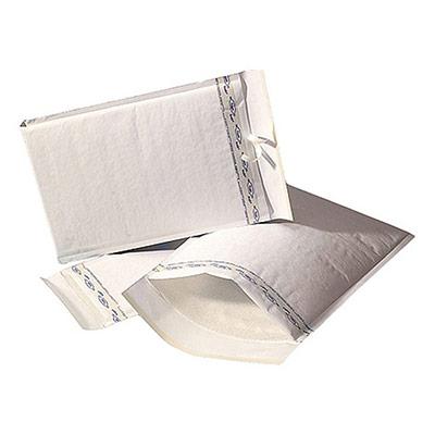 Enveloppe matelassée - AirCap - polyéthylène - Mail Lite Tuff - 330 x 240 mm - fermeture auto-adhésive - blanc - paquet 10 unités (photo)