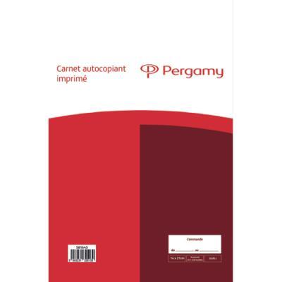 Manifold 1er prix - autocopiant - Commande - 148x210 - 50 feuillets - dupli